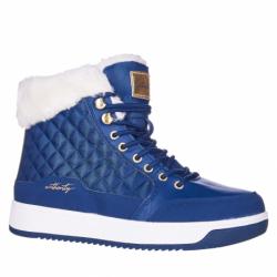 Dámske zimné topánky členkové AUTHORITY-Bella blue
