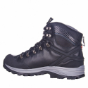 Pánska turistická obuv vysoká EVERETT-Blaze black -