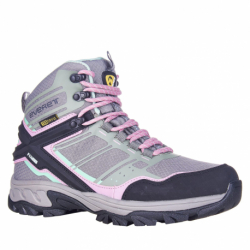 Dámska turistická obuv vysoká EVERETT-Bertuna grey