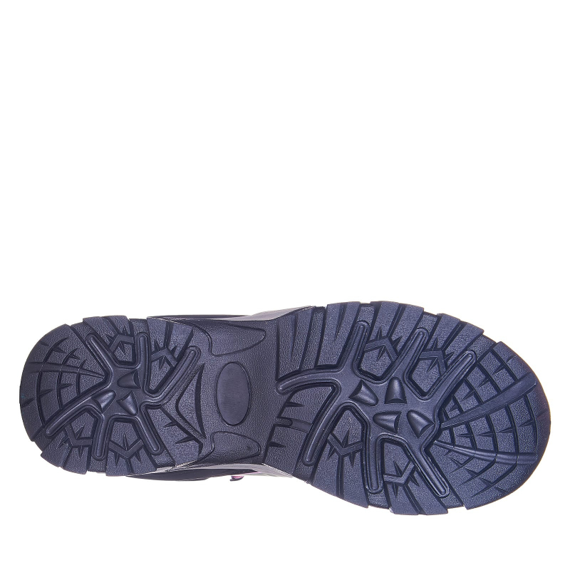 Dámska turistická obuv vysoká EVERETT-Bertuna grey -