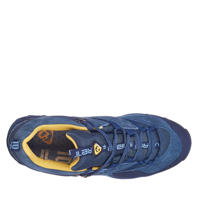 Pánska turistická obuv nízka EVERETT-Izlet navy -
