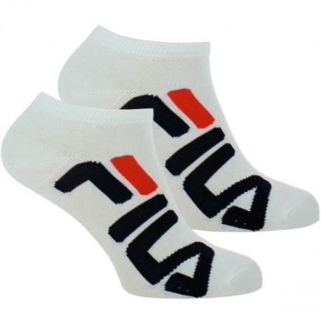Ponožky FILA-F9199 SOCKS 2-PACK-300 WHITE
