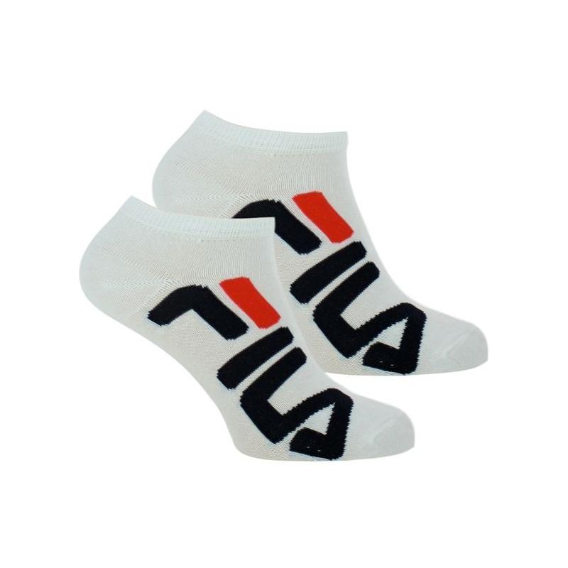 Ponožky FILA-F9199 SOCKS 2-PACK-300 WHITE -