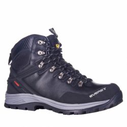 Pánska turistická obuv vysoká EVERETT-Blaze black (EX)