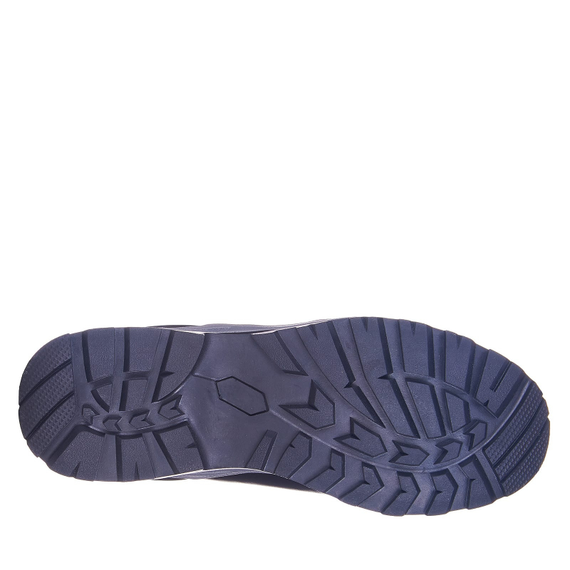 Pánska turistická obuv vysoká EVERETT-Blaze black (EX) -