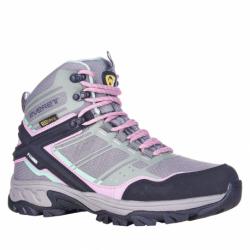Dámská turistická obuv vysoká EVERETT-Bertuna grey (EX)