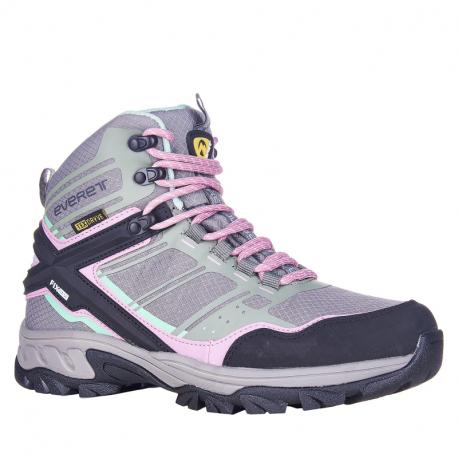 Dámska turistická obuv vysoká EVERETT-Bertuna grey (EX)
