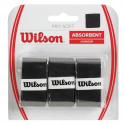 Vrchná omotávka WILSON-GRIP PRO SOFT OVERGRIP BK
