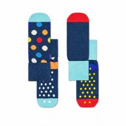 Dětské módní ponožky HAPPY SOCKS-2-Pack Big Dot Anti-Slip Socks KBDO19-6500