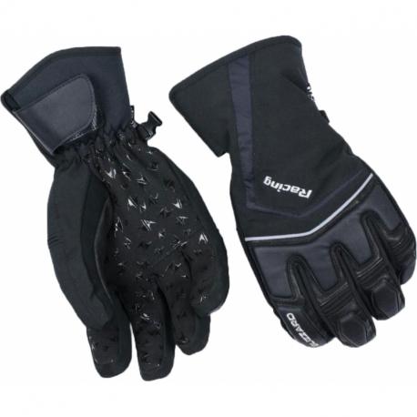 Lyžařské rukavice BLIZZARD-Racing ski gloves, black / silver