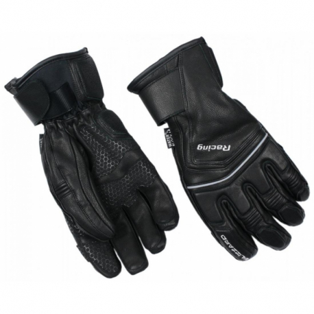 Lyžařské rukavice BLIZZARD-Racing Leather ski gloves, black / silver