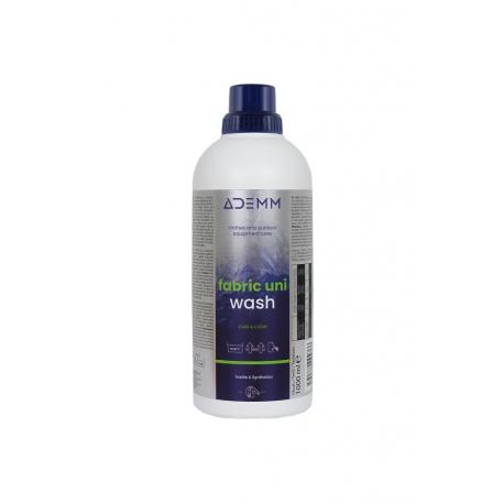 Ošetřovací přípravek na textil ADEMM-Fabric Uni Wash 1000 ml, CZ / SK / HU / PL