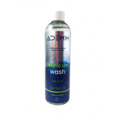 Ošetřovací přípravek na textil ADEMM-Fabric Uni Wash 250 ml, CZ / SK