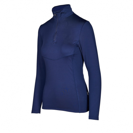 Dámske tričko s dlhým rukávom AUTHORITY-DRY-T W I_DS Blue dark