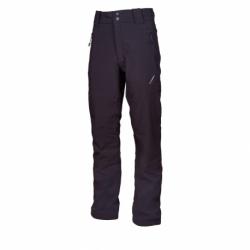 Pánské turistické softshellové kalhoty AUTHORITY-NERIOMNY_DS Black