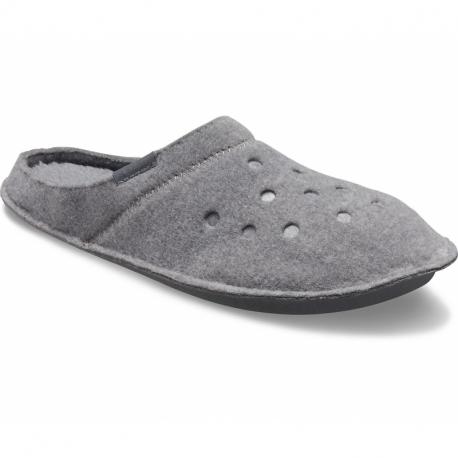 Pantofle (domácí obuv) CROCS-Classic Slipper charcoal / charcoal (EX)