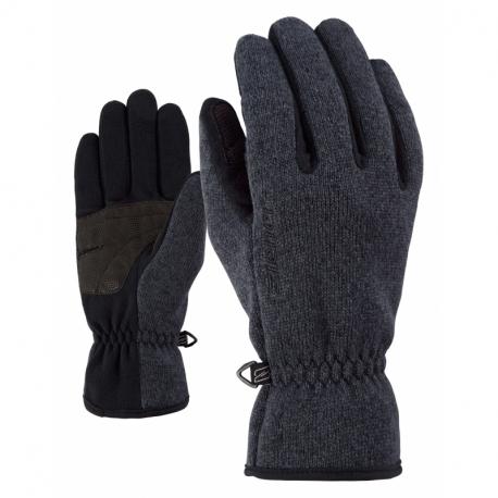 Detske lyžiarske rukavice ZIENER-LIMAGIOS JUNIOR glove multisport Black