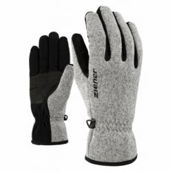 Dětské lyžařské rukavice ZIENER-LIMAGIOS JUNIOR glove multisport Grey