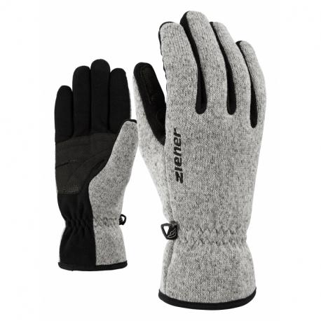 Detske lyžiarske rukavice ZIENER-LIMAGIOS JUNIOR glove multisport Grey