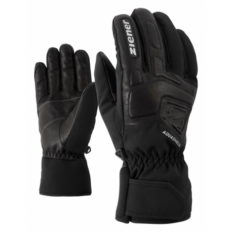 Pánské lyžařské rukavice ZIENER-GLYXUS AS (R) glove ski alpine Black