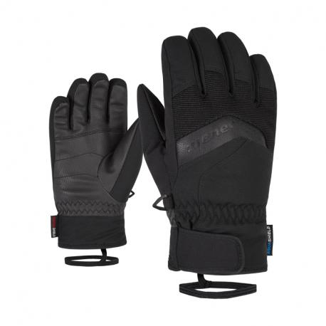 Juniorské lyžiarske rukavice ZIENER-LABINO AS(R) glove junior 801948 Black