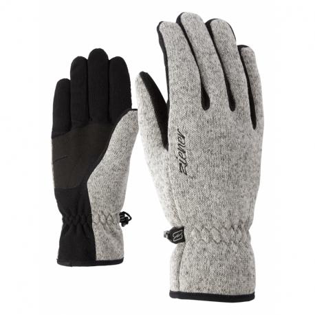 Dámské lyžařské rukavice ZIENER-IMAGIANA LADY glove multisport Grey