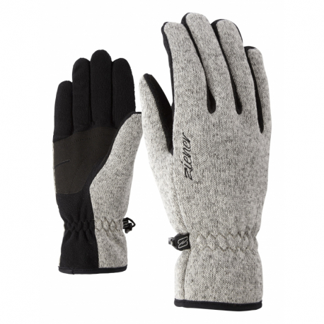Dámske lyžiarske rukavice ZIENER-IMAGIANA LADY glove multisport Grey
