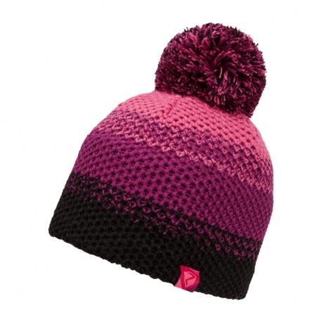 Juniorská zimná čiapka ZIENER-ISHI JUNIOR hat Pink