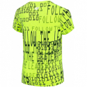 Chlapčenské tričko s krátkym rukávom 4F-BOYS-T-SHIRT-HJZ20-JTSM009-72N-Lemon Neon -
