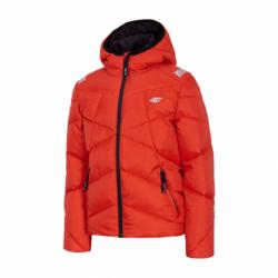 Chlapčenská bunda 4F-BOYS JACKET-HJZ20-JKUMP002-62S-RED