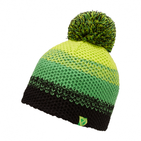 Juniorská zimná čiapka ZIENER-ISHI JUNIOR hat Green I