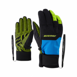 Pánské lyžařské rukavice ZIENER-Garima AS (R) glove ski alpine Blue