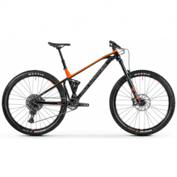 Horský bicykel MONDRAKER-Foxy, black/orange/grey, 2021