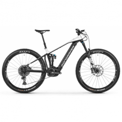 Horský bicykel MONDRAKER-Crafty R, black/white, 2021