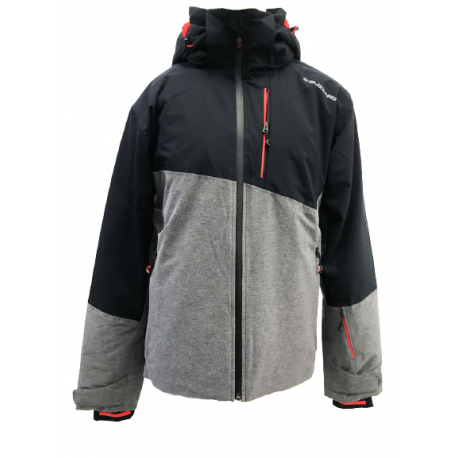 Pánska lyžiarska bunda BLIZZARD-Ski Jacket Blow, melange/black