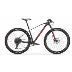 Horský bicykel MONDRAKER-Chrono Carbon R, carbon/silver/red, 2021