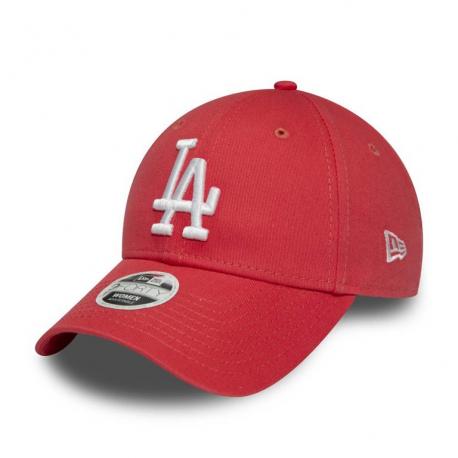Dámska šiltovka NEW ERA-940W MLB League essential LOSDOD Red