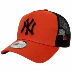 Šiltovka NOVÝ ERA-940 Af trucker MLB League základní NEYYAN Orange