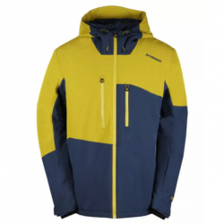 Pánská lyžařská bunda FUNDANGO-HEMPFIELD-537-khaky