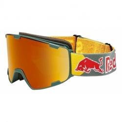 Lyžiarske okuliare RED BULL SPECT-PARK-002, matt olive green frame/olive green headband, lens