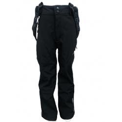 Detské lyžiarske softshellové nohavice AUTHORITY-NUSKO K_DS Black