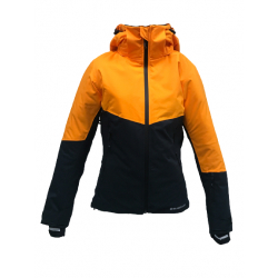 Dámská lyžařská bunda BLIZZARD-Viva Ski Jacket Peak, black / orange
