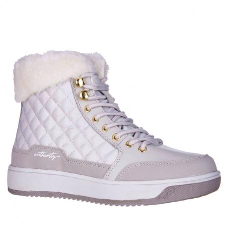 Dámske zimné topánky členkové AUTHORITY-Bella grey