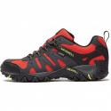 Pánska turistická obuv nízka MERRELL-Accentor Sport GTX high risk/lime -
