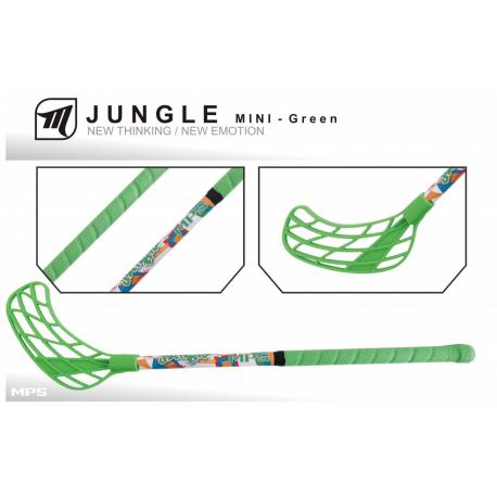 Detská florbalová hokejka MPS-JUNGLE MINI green