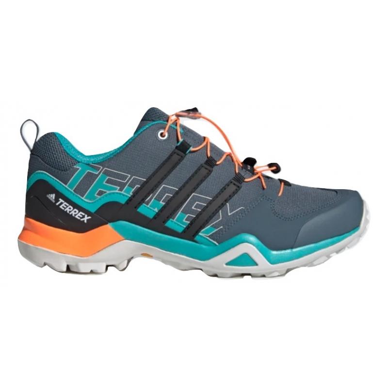 Pánská turistická obuv nízká ADIDAS-Terrex Swift R2 leblue / cblack / sgnora -