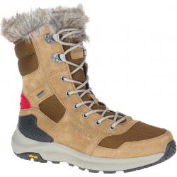 Dámske zimné topánky vysoké MERRELL-Ontario Tall Polar WTPF camel