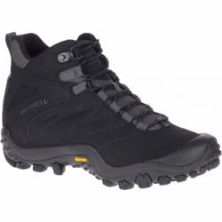 Pánské zimní boty kotníkové MERRELL-Chameleon 8 Thermo Mid WP black / rock (EX)
