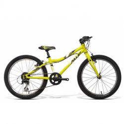 Detský horský bicykel AMULET-20 Tomcat, green matt/black matt