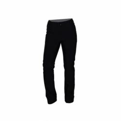 Dámske turistické softshellové nohavice NORTHFINDER-VINSTORIA-269 Black